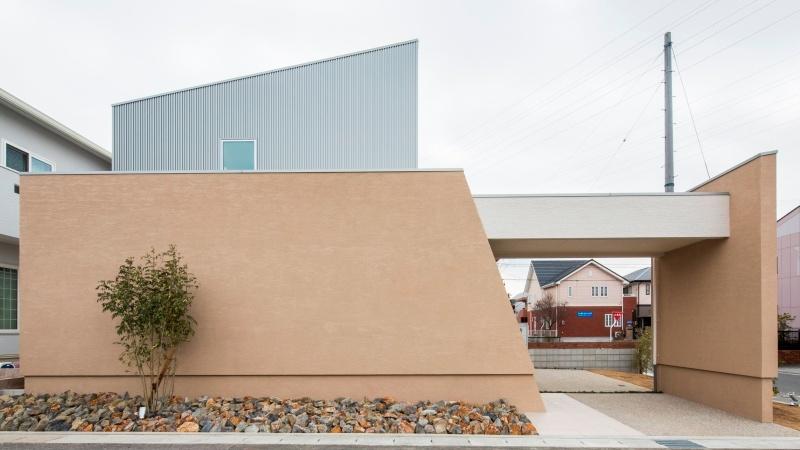 「家の顔」となる建物と外構をトータルで演出する高いデザイン