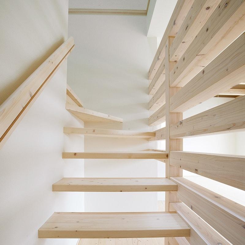 オリジナル無垢階段